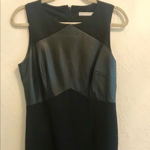 New York & Company black stretch work dress